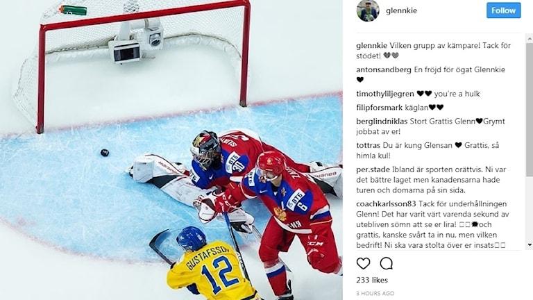 Glenn Gustafsson instagram