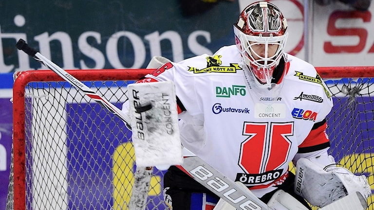Axel Brage Målvakt Örebro Hockey