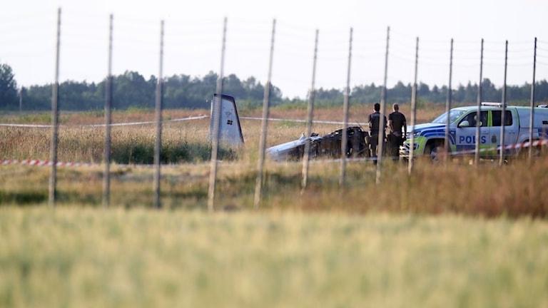 Flygolyckan i Örebro 8 juli 2021.