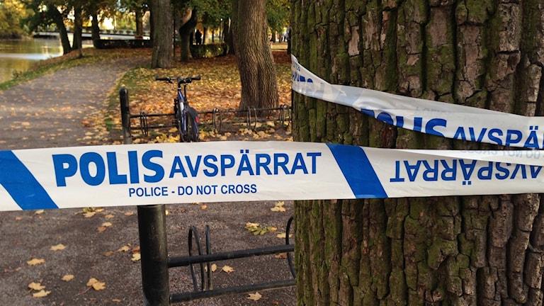 polisavspärrningar slottet i Örebro