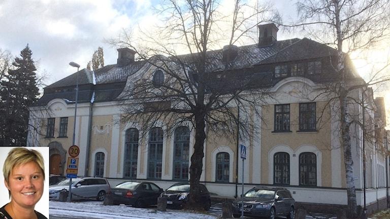 Bild 1: Sabina Elisson Bild 2: Tingshuset i Nora där kommunen har sin ledningscentral.