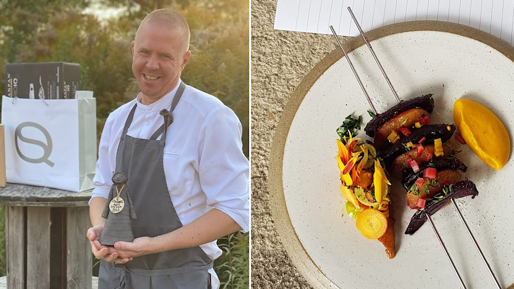 Anders Johnsson, kock.
