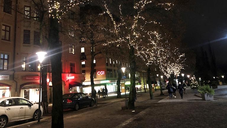 Belysning Järntorget i Örebro