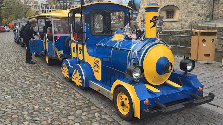 Spöktåget kommer trafikera Örebro under höstlovsveckan.