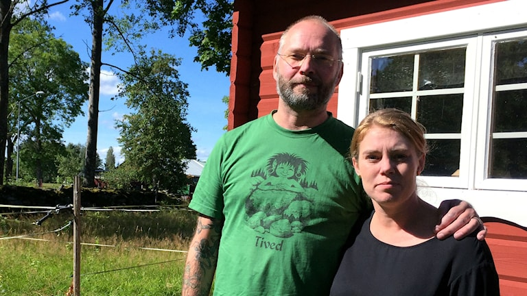 Joacim och Maria Cleryd från Stockholm tar över Tiveds Lanthandel.