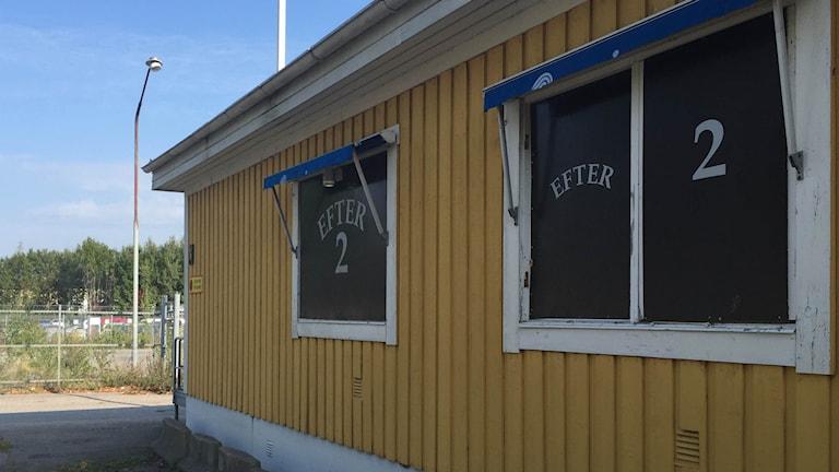 Strippklubben Efter Två ligger i industriområdet Holmen.