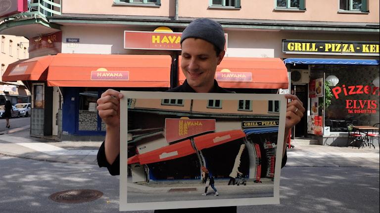 Per Englund, fotograf, utställningen Paranormalorama Örebro