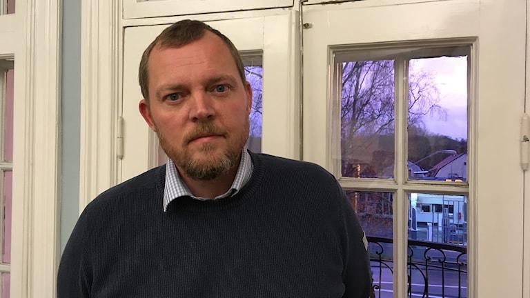 Fredrik Bergström är socialchef i Nora kommun.