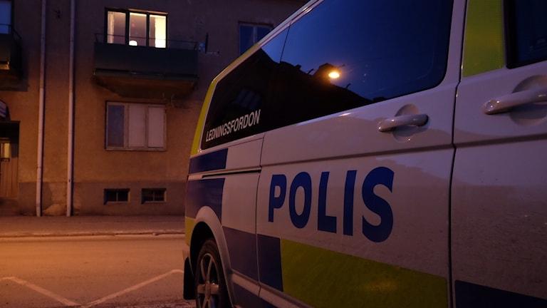Polisen på plats. Arkivbild