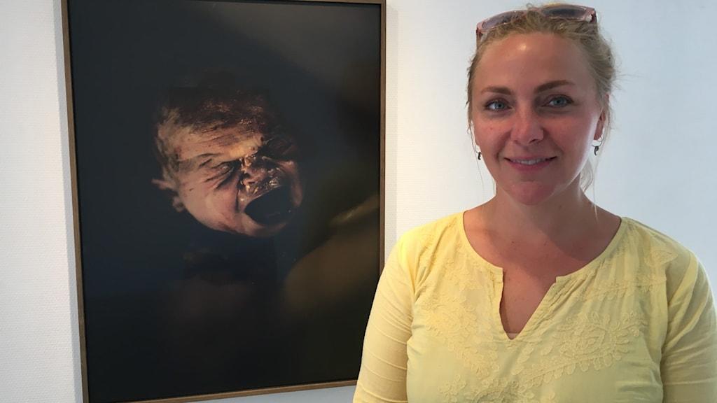 Elin Persson, enhetschef Open art.