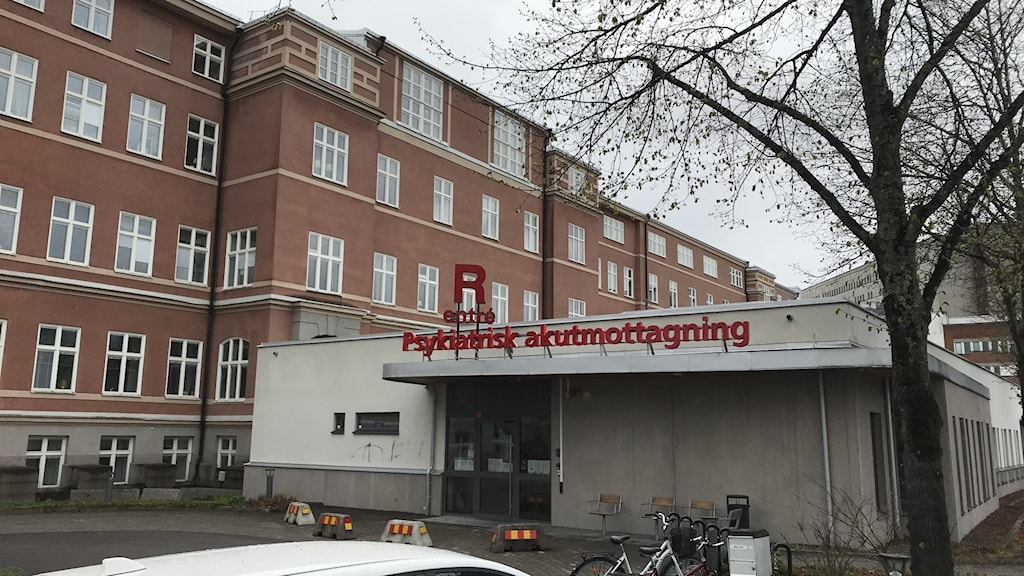 Psykiatrins akutmottagning vid Universitetssjukhuset i Örebro.