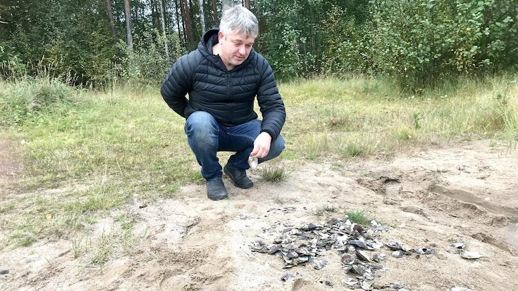 Christer Carlsson och musslor