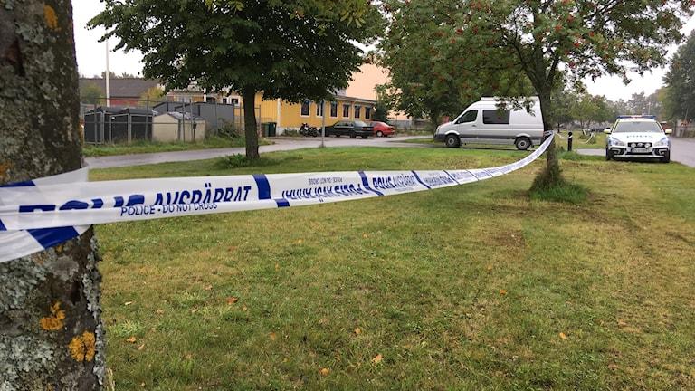 Polisavspärrning, Holmen Örebro