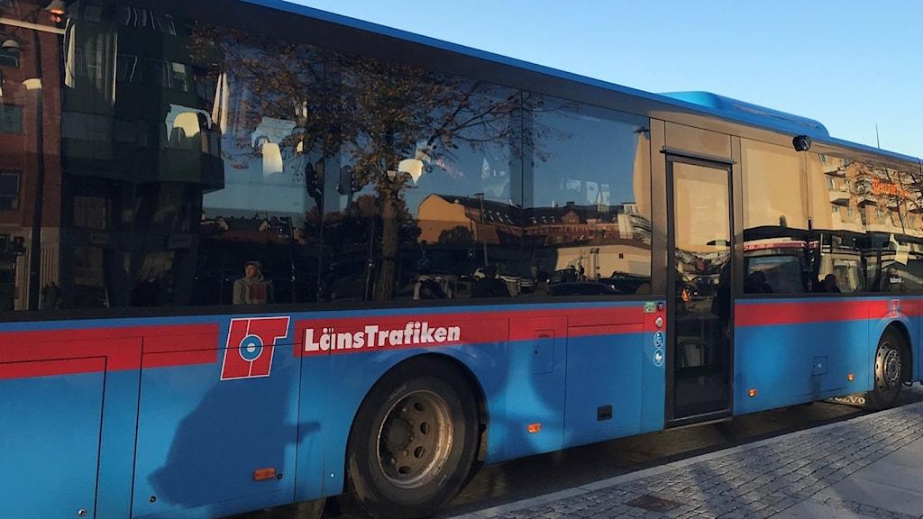 Länstrafiken, buss i Örebro.