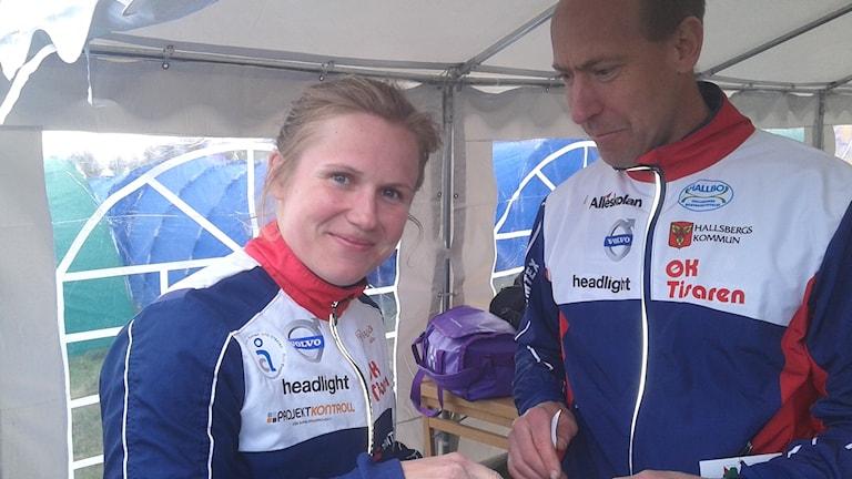 Lilian Forsgren & Thomas Hallmén lagl. OK Tisaren Foto Bo Magnusson