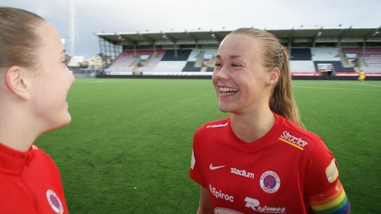 Frida Abrahamsson. Foto: Lasse Hellstrandh/Sveriges Radio arkiv.