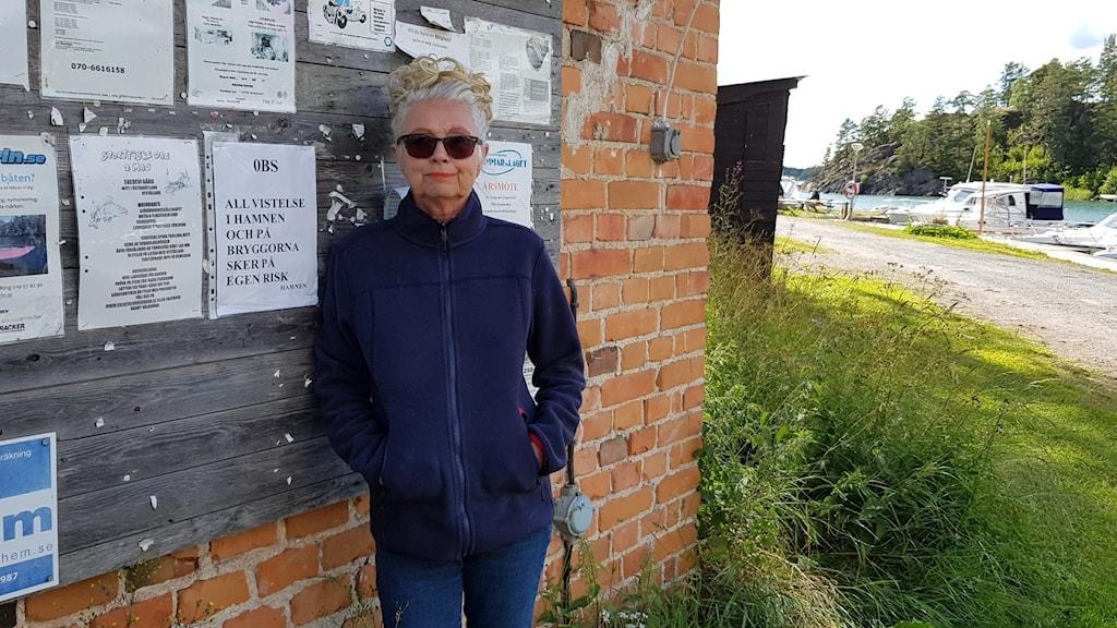 Inger Larsson från Bastedalen kritisk mot nya bostäder.