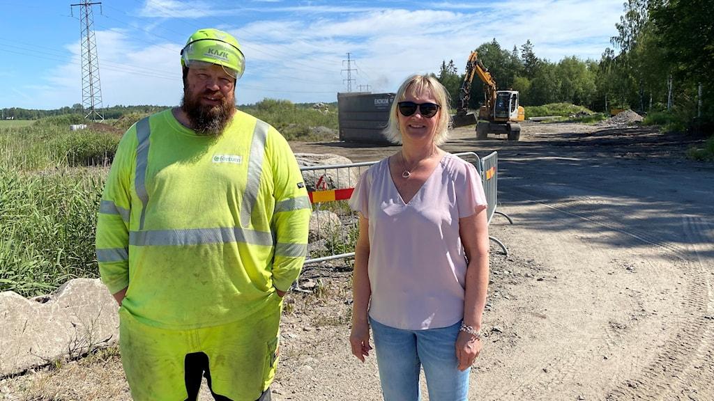 Magnus Ljungstedt och Annika Lorin, Fortum Waste Solutions