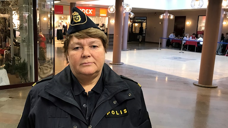 Irene Rosell, kommunpolis Hallsberg.