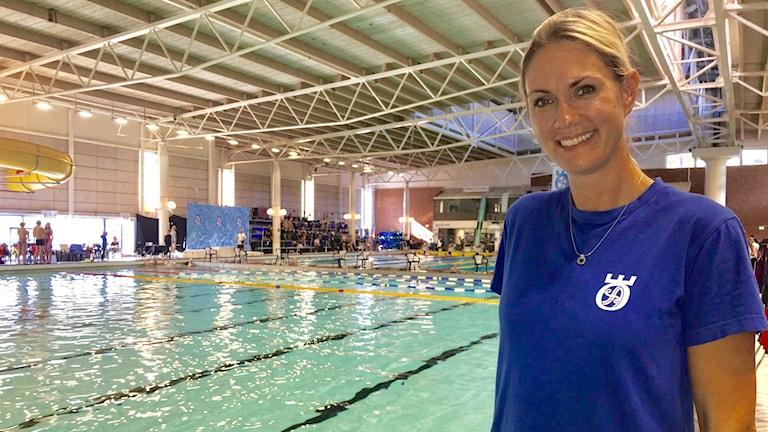 Jenny Cederlind är sportchef i Örebro Simallians.