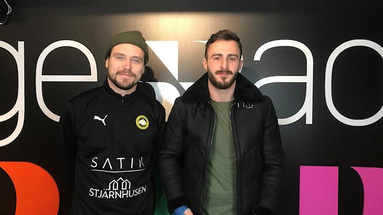 Jens Arrby, Örebro Futsal Club och Amel Rastoder, ÖSK Futsal.