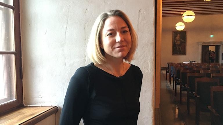 Anna-Karin Nyman, kommunikationschef för Jernkontoret.
