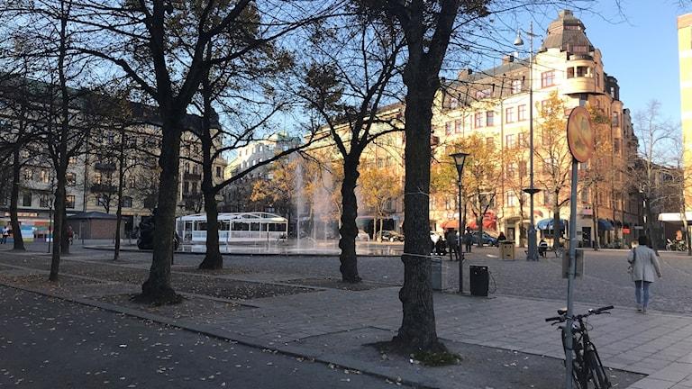 Järntorget i Örebro kommun.