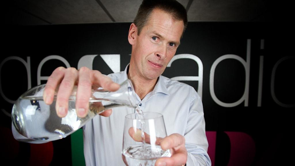 Leif Rehnberg från Örebro kommun är glad över att örebroarna har tagit vattenbristen på allvar.