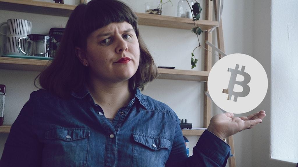 Teknikbloggare Elin Häggberg förklarar vad Bitcoin är.