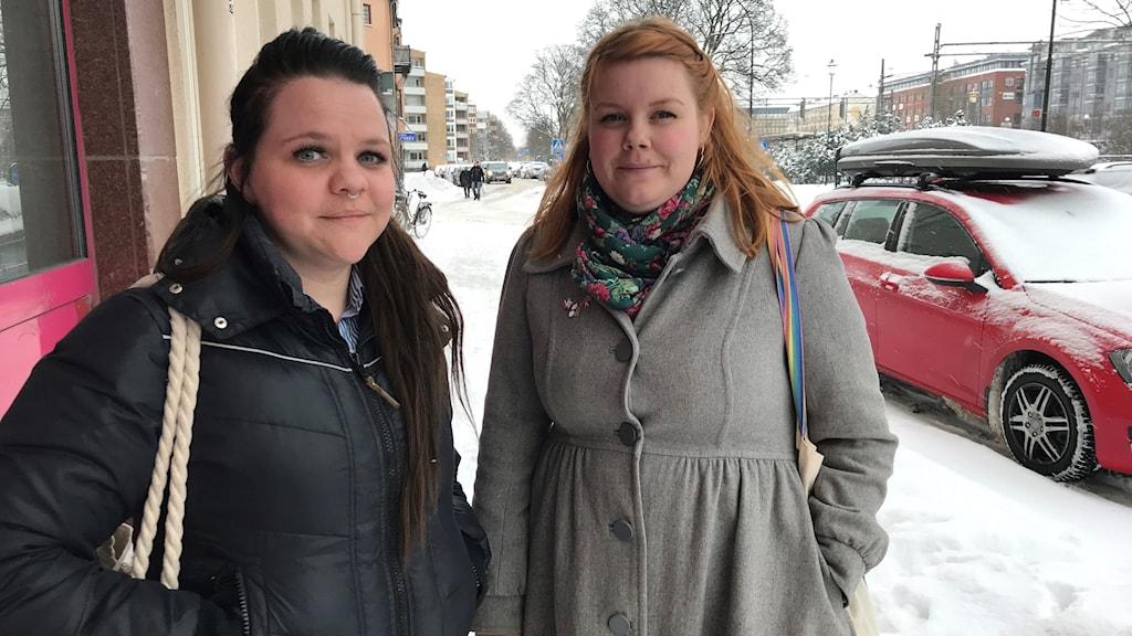 Karolin och Amanda