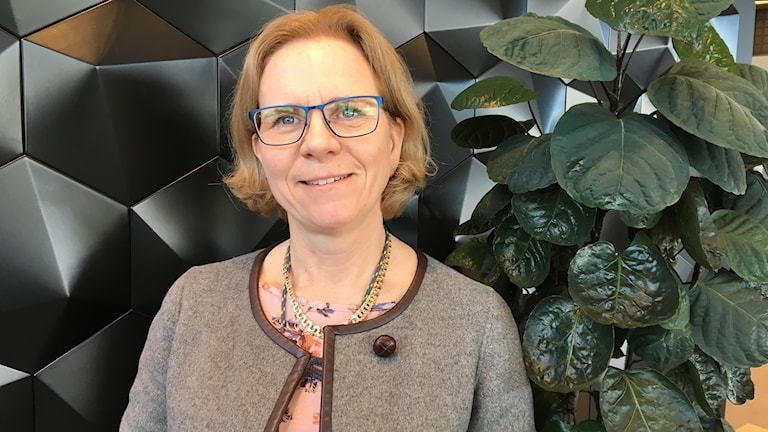 Lorraine Lind, personalansvarig på Epiroc rock drills i Örebro.