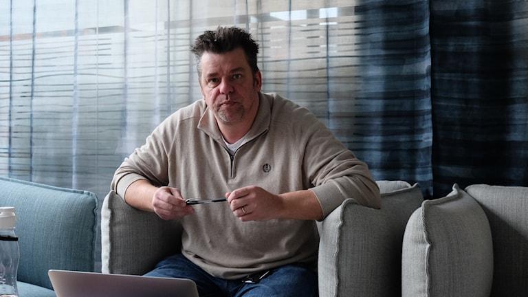 Jonas Tannerstad, chef för el och automation, ÖBO