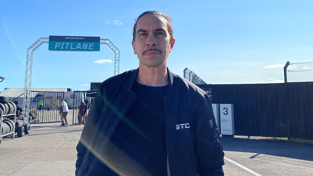 Joakim Dyredand, ansvarig för tv- sändningarna för STCC på Gelleråsen.