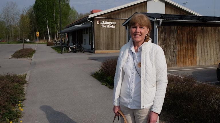Charlotte Edberger Jangdin (C), ordförande tekniska nämnden, Örebro kommun.