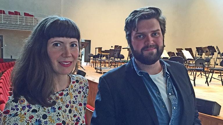 Solisterna Susanna Sundberg och Markus Pettersson