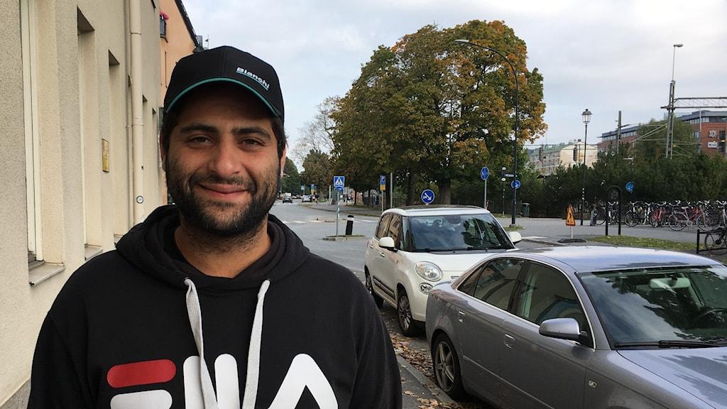 Rada Al-Azawi, ungdomscoach på Tegelbruket och projektledare för TB Action.