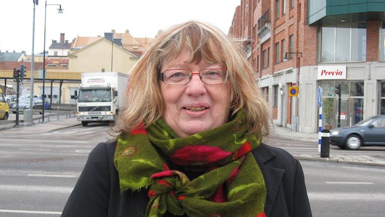 Ritha Sörling (S) Hällefors kommun. Foto: Karwan Tahir/SR Örebro.