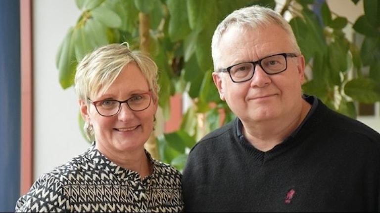 Eva Runngren och Mats Eriksson vill öka tilliten till HPV-vaccinet.