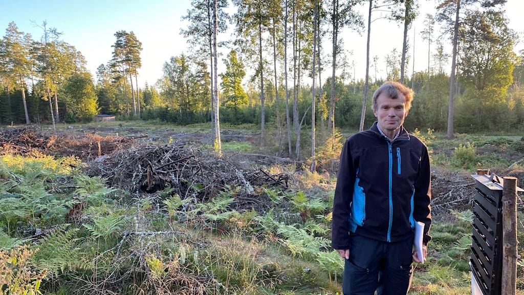 Lars-Åke Letskog markägare i Vretstorp
