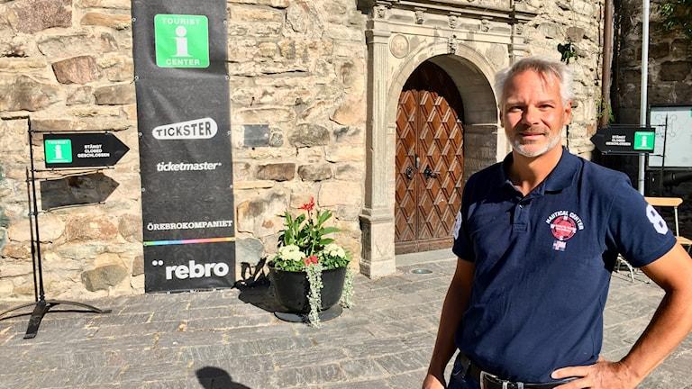 Björn Fransson på Örebro kompaniet.