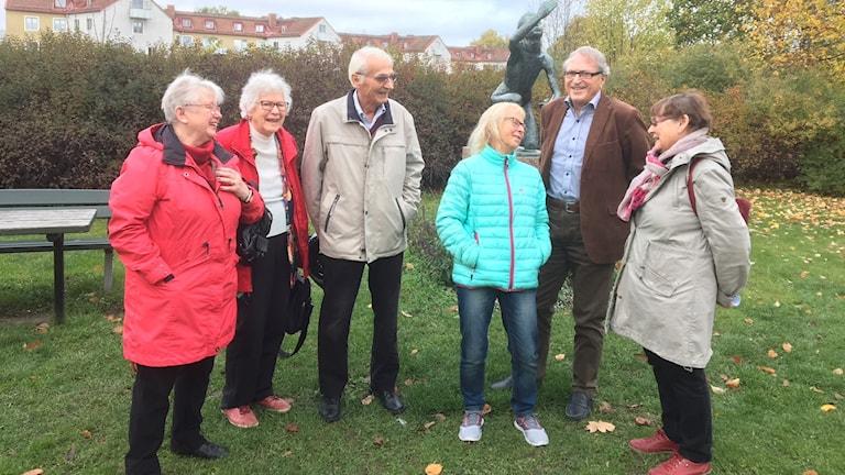 Gudrun, Sonja, Ulf, Birgitta, Hans och Kerstin är alla SPF-pensionärer i länet.