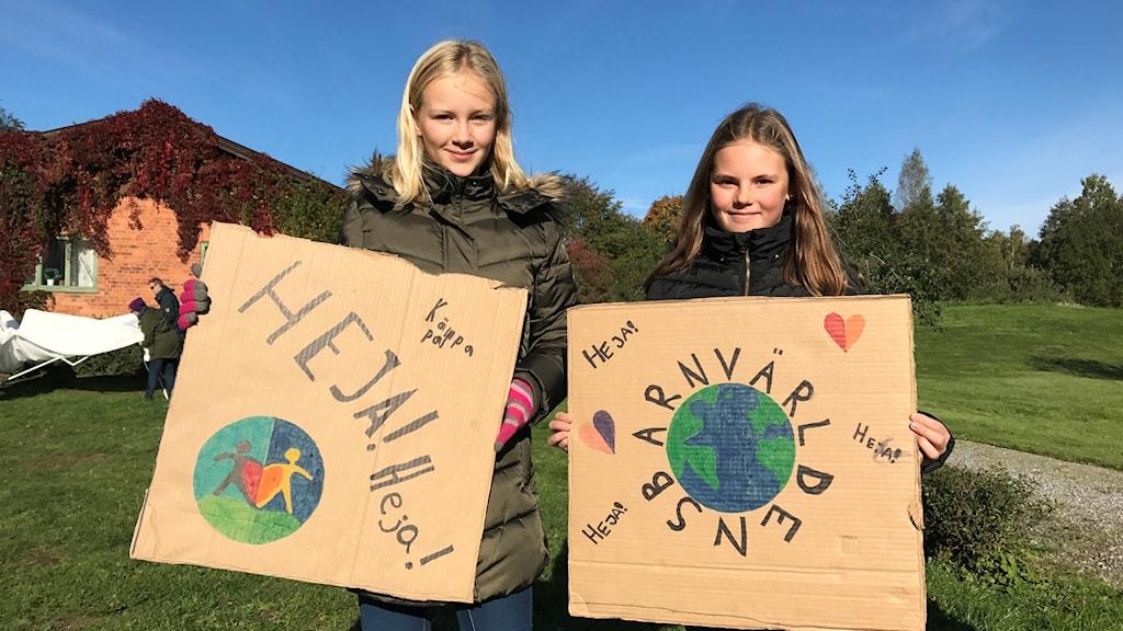 Världens barn hade inte bara P4 Örebro som sina supportrar.