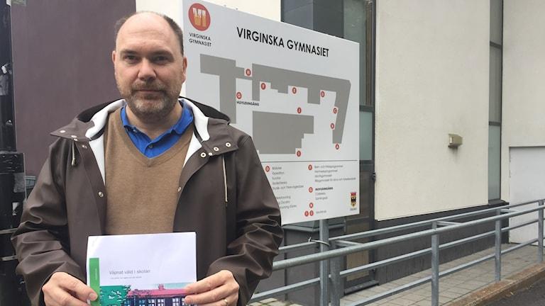 Anders Duvkär, områdeschef för vuxenutbildning inom gymnasieskolan i Örebro.