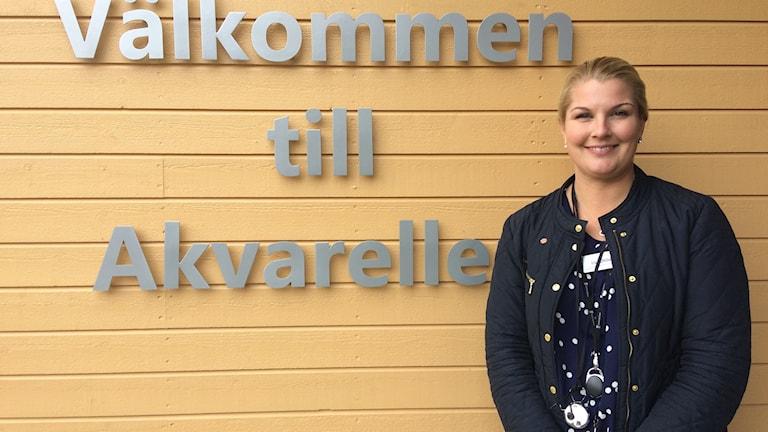 Lise Ohlin, verksamhetschef Akvarellen i Kumla.