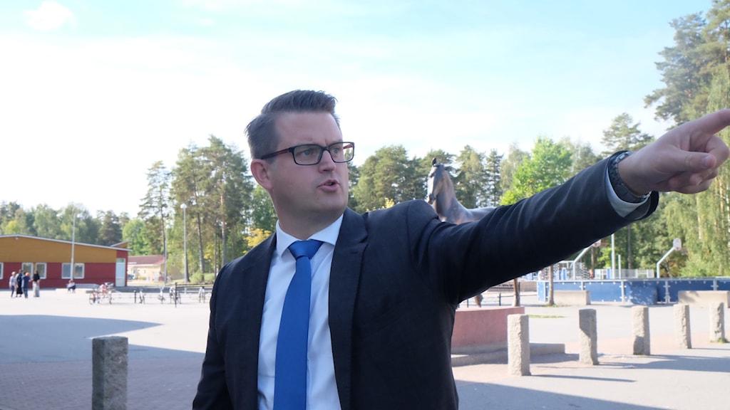 Anders Åhrlin, moderat Örebro