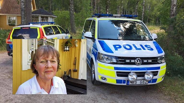 Ketty Axelsson såg rymling