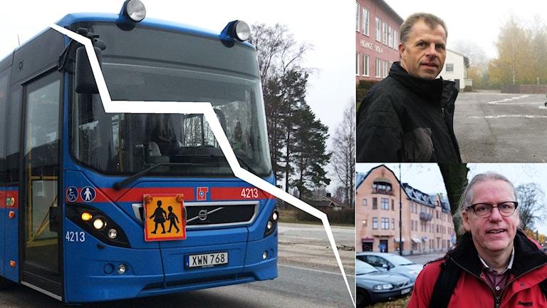 Skolbuss, lekeberg, region örebro län, länstrafiken