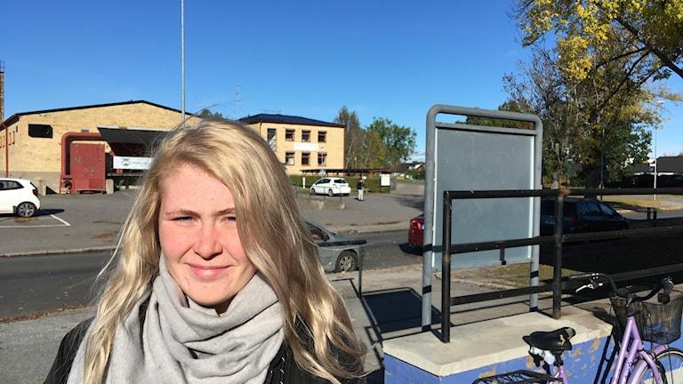 Leila Svetlov, elev på Rudbecksgymnasiet.