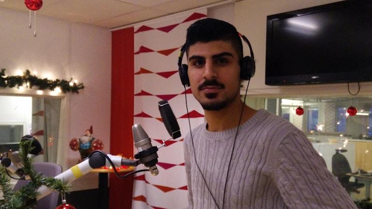 Mokrrm Mahmoud - nominerad till årets livräddare vid svenska hjältar-galan.