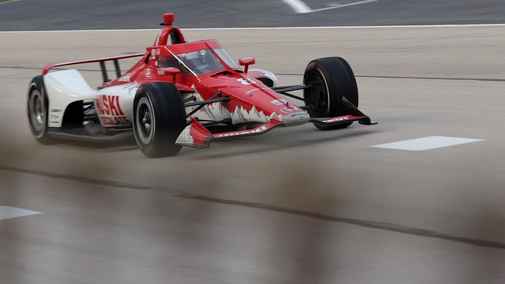 Marcus Ericsson i sin Indycar.